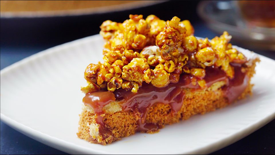 salted caramel popcorn konafa. 9 New & Strange Ramadan Desserts in Egypt
