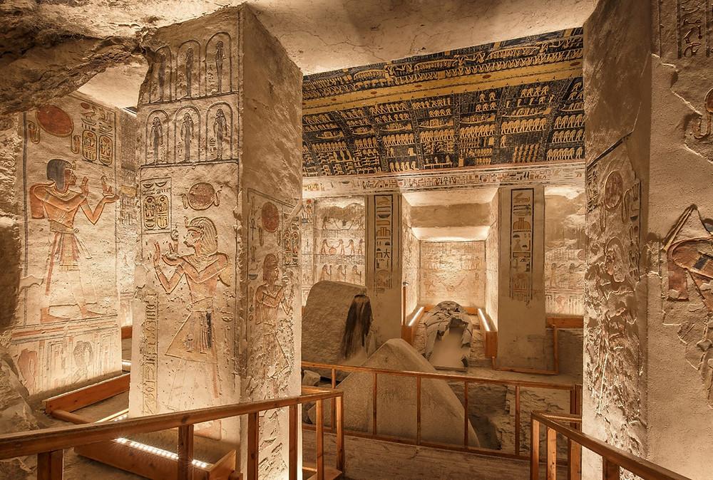 Tomb of Ramses VI virtual tour