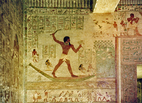Beni Hassan. Best Ancient Egyptian Tomb Sites in Modern Day Egypt