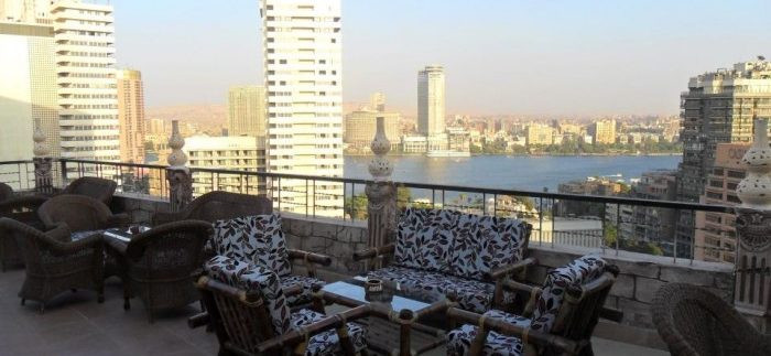 Brown Lounge. Best Rooftop Bars in Cairo