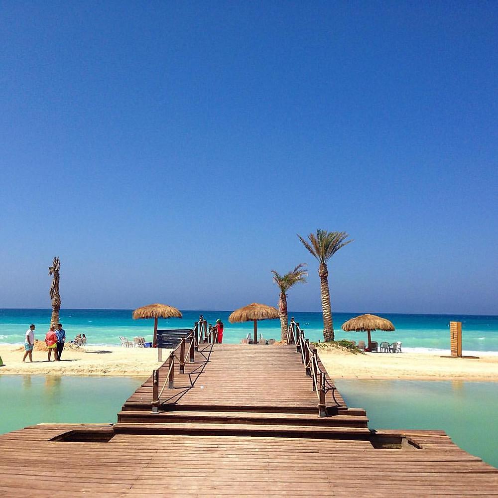 Egypt North Coast Mediterranean. Photo copyrights Leila Tapozada
