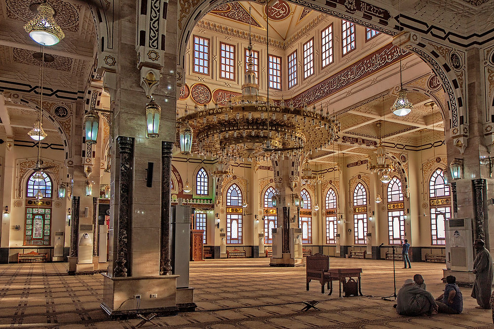 el mina mosque. 10 Most Beautiful Mosques in Egypt