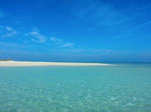 Wadi el gemal. Best beaches in Egypt