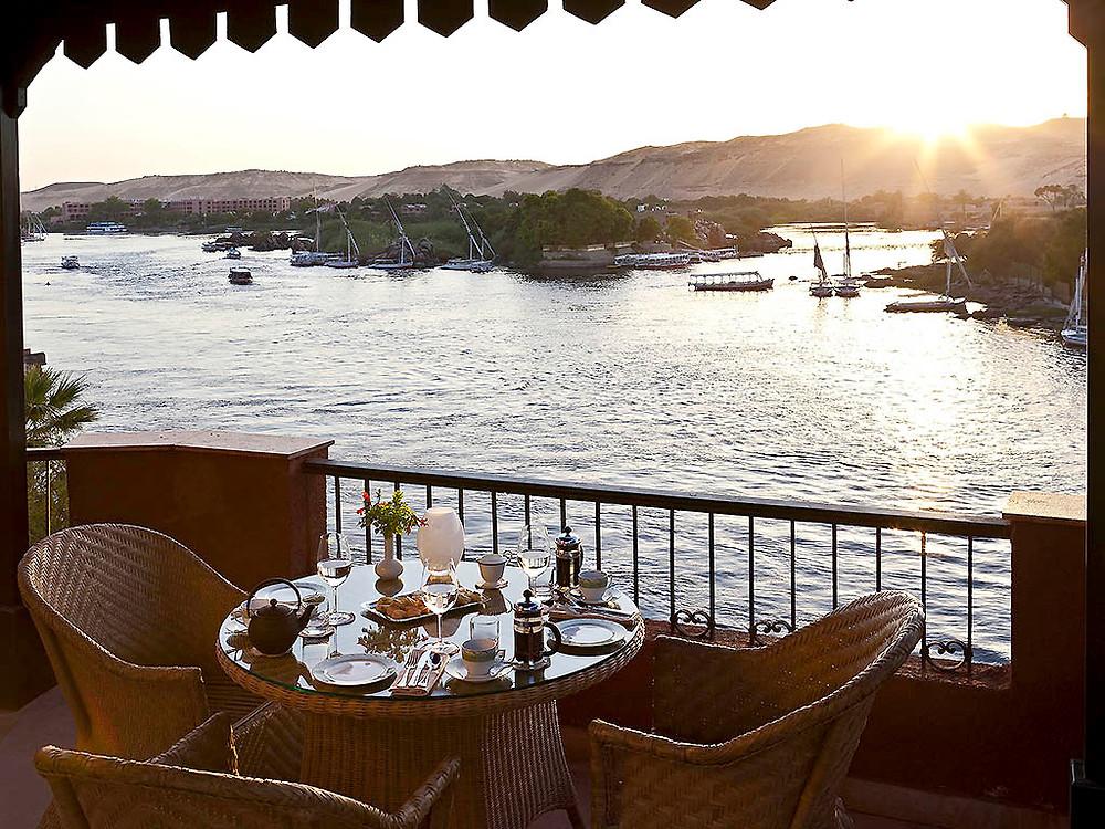Sofitel Legend Old Cataract Hotel in Aswan, Egypt. Best views in Egypt
