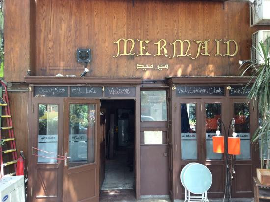 Mermaid. 21 Classic 90s Restaurants in Cairo That Are Still Open Until Now