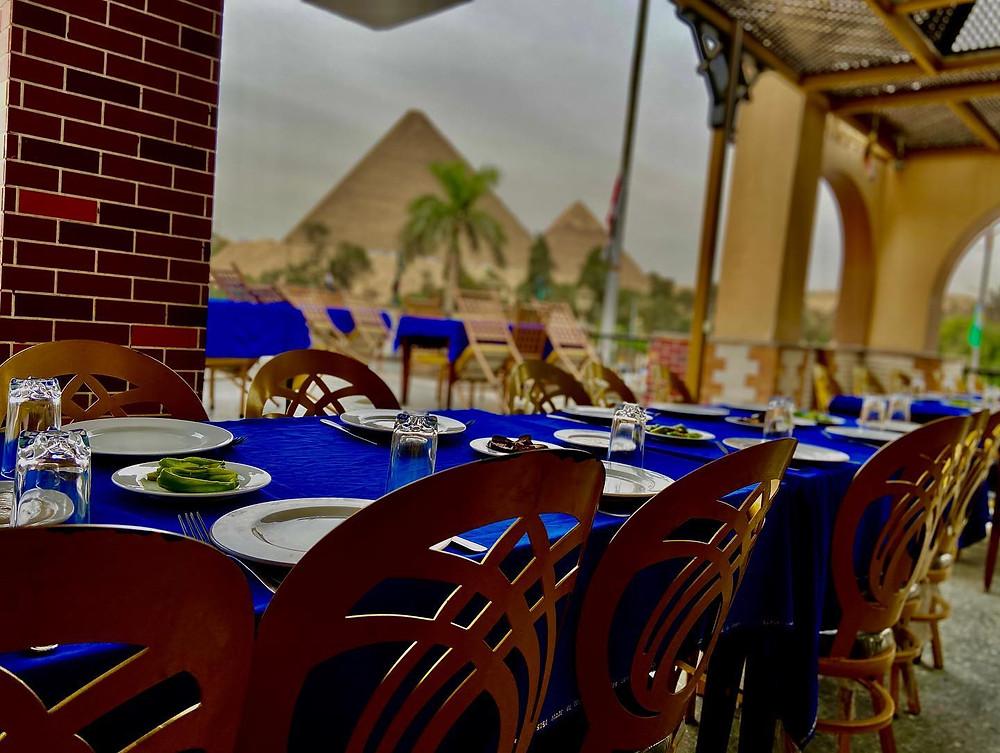 Cheristo. Best Restaurants with Pyramid Views in Giza