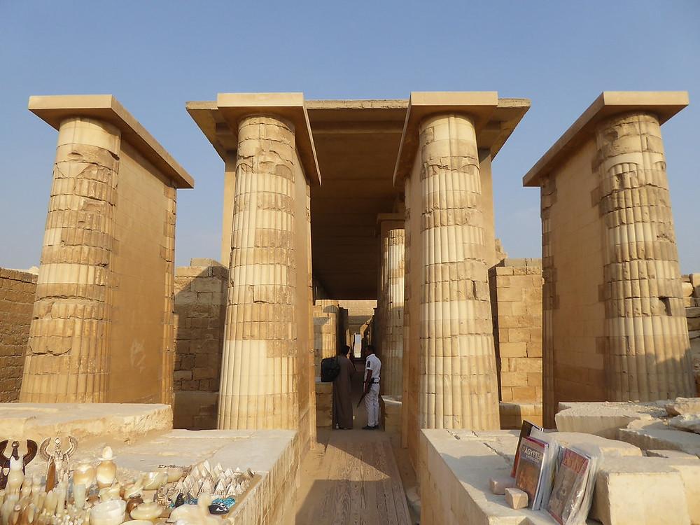 Step Pyramid colonnade virtual tour