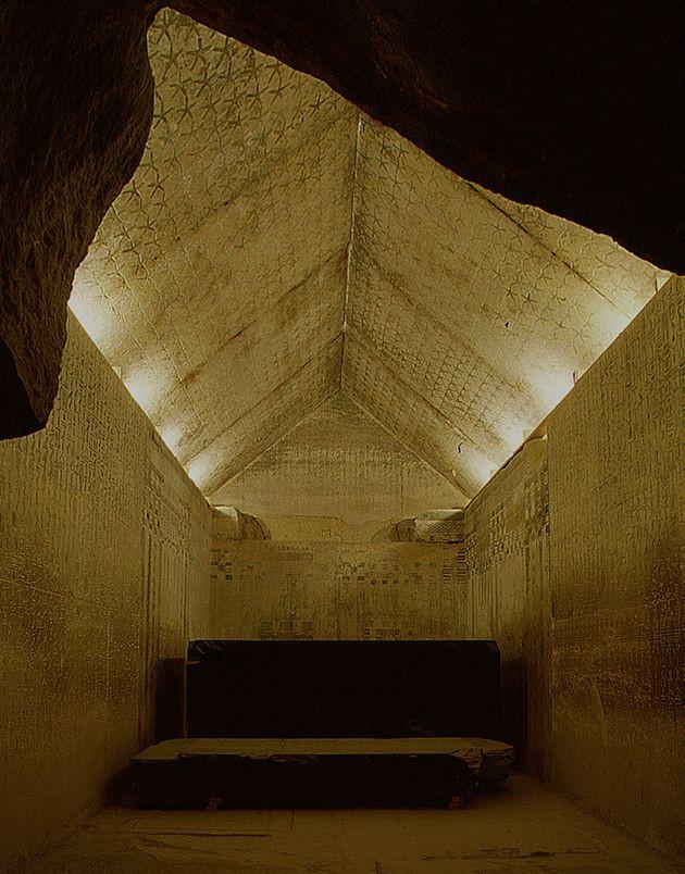 Unas Pyramid virtual tour