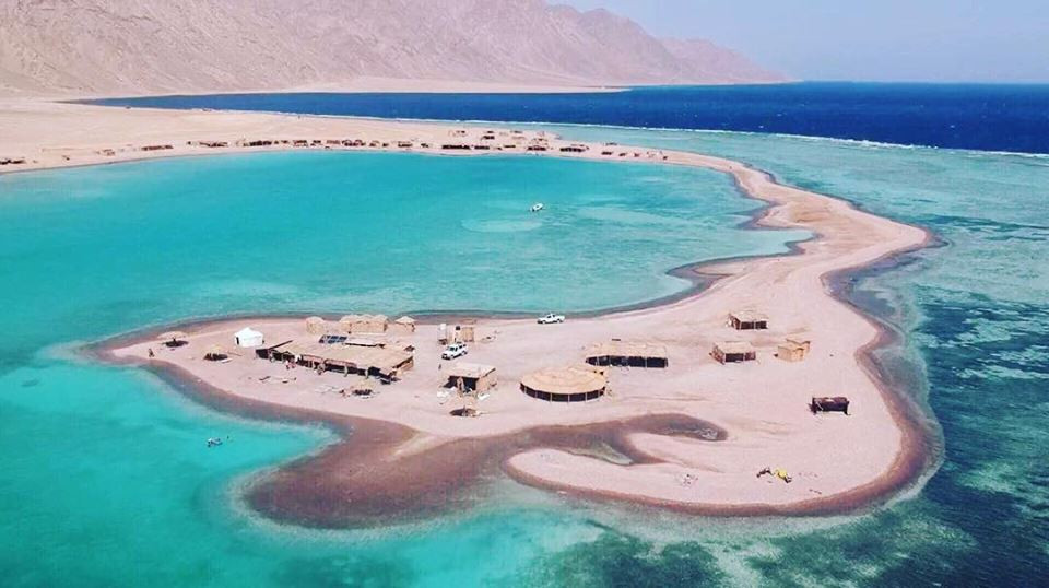 Blue Lagoon. Best beaches in Egypt