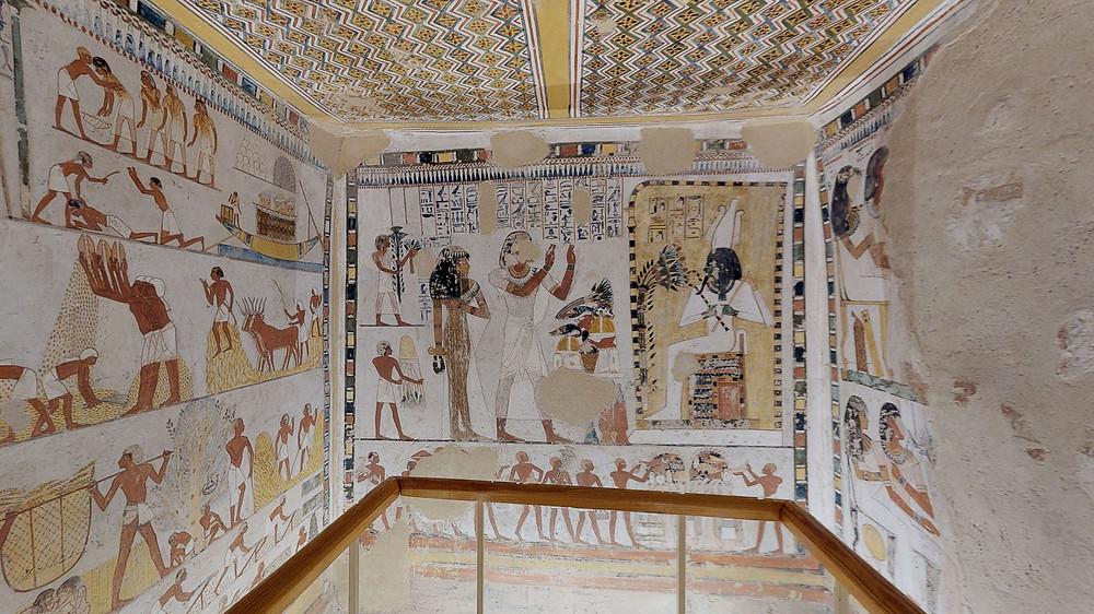 Tomb of Menna virtual tour