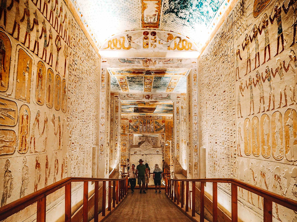 Valley of the Kings. Best Ancient Egyptian Tomb Sites in Modern Day Egypt