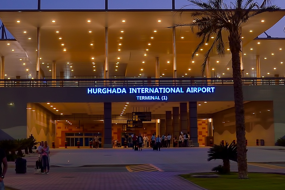 Hurghada airport. 2 Weeks in Egypt: The Ultimate Local Itinerary