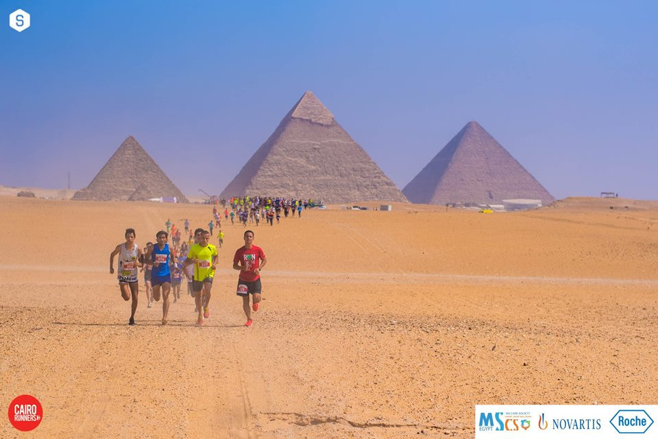 Cairo runners at the pyramids. Cairo on a Budget: 10 Cheap Ways To Enjoy The City