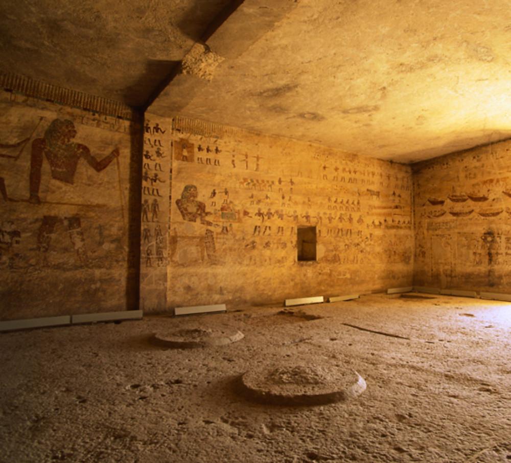 Beni Hasan tombs virtual tour