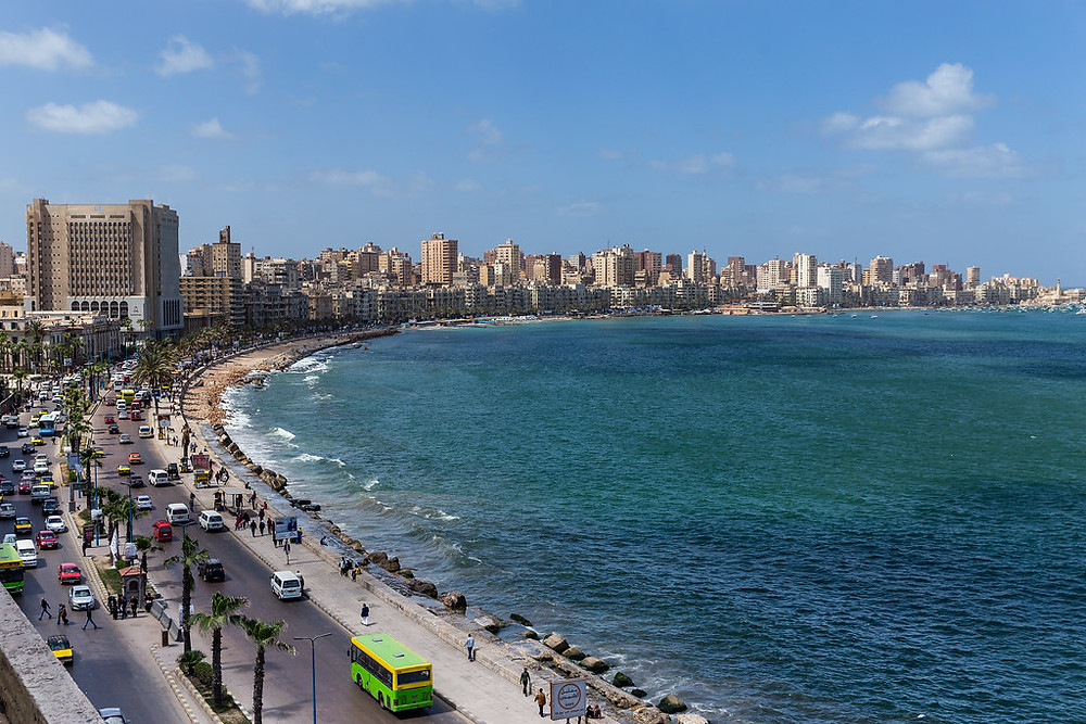 Alexandria Corniche. Sightseeing in Alexandria, Egypt: 15 Best Things To See And Do