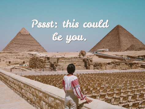 Open Letter To Anyone Who Wants To Come To Egypt But Is Unsure As Hell