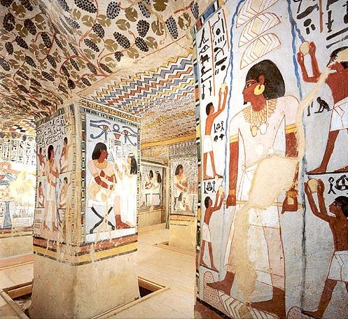 Tombs of the Nobles. Best Ancient Egyptian Tomb Sites in Modern Day Egypt
