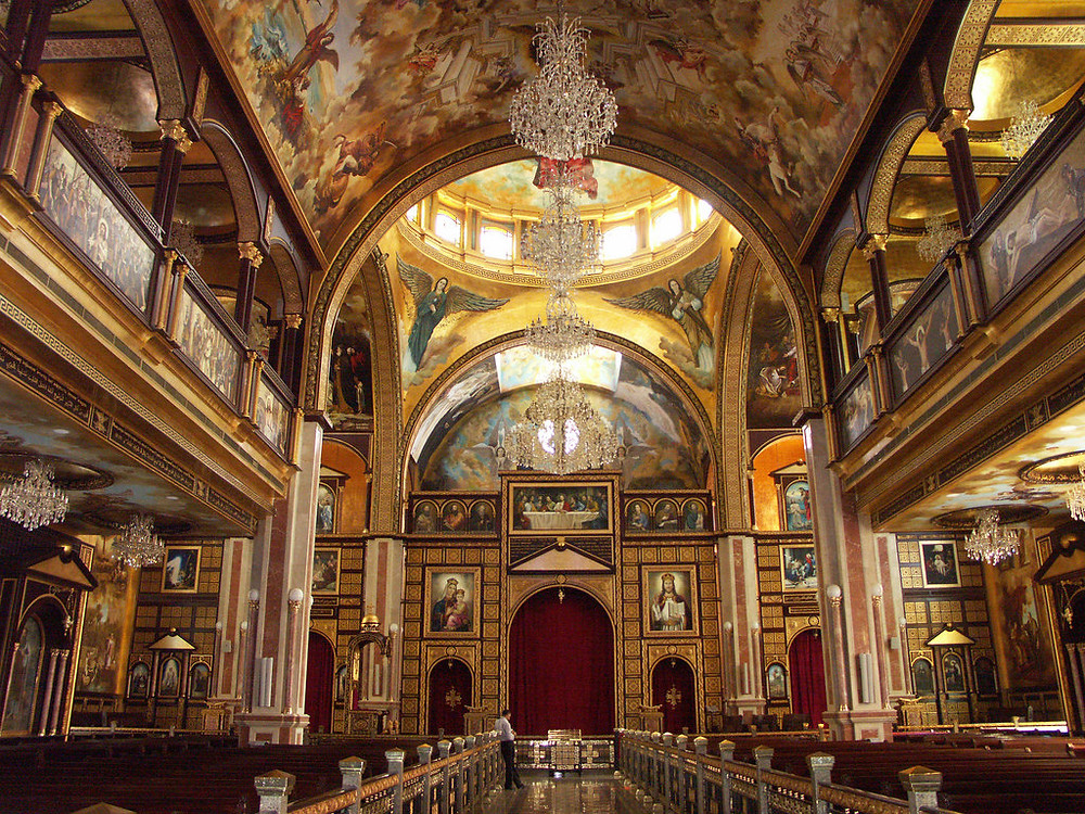 heavenly cathedral in sharm el sheikh, egypt. best churches, cathedrals and monasteries in egypt