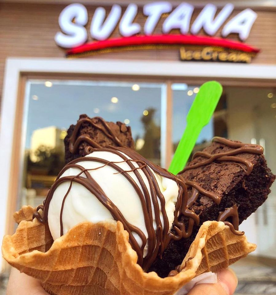 Sultana, best ice cream in Cairo