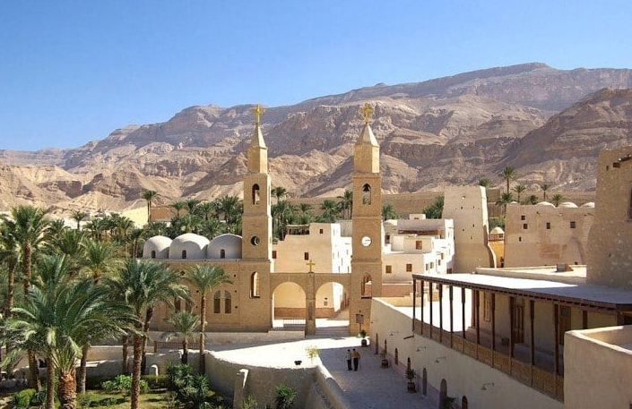 St. Anthony's. Most Beautiful Coptic Orthodox Monasteries in Egypt