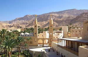 saint anthony's cathedral in hurghada, egypt. best churches, cathedrals and monasteries in egypt