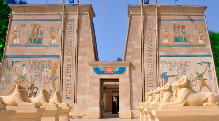 Pharaonic Village and Papyrus Museum in Cairo Egypt. Best sightseeing and things to do and see in Cairo Egypt
