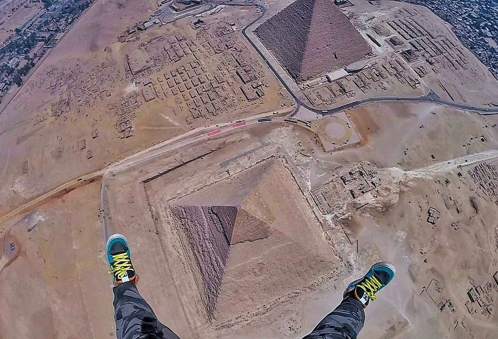 skydiving pyramids. 7 Extreme Adventure Experiences in Egypt for Adrenaline Junkies
