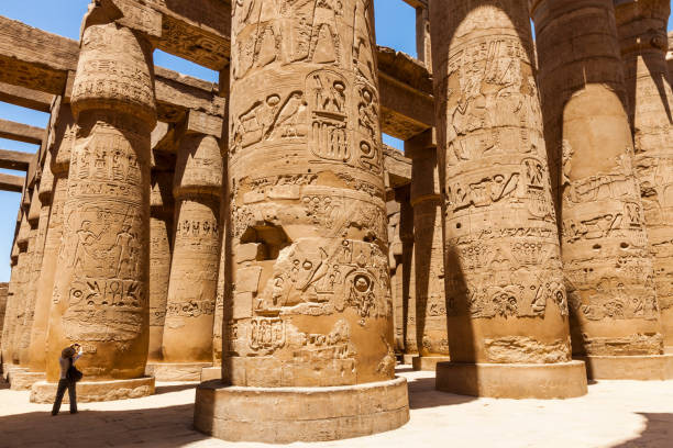 Karnak temple. Most Impressive Ancient Egyptian Temples Still Standing Today
