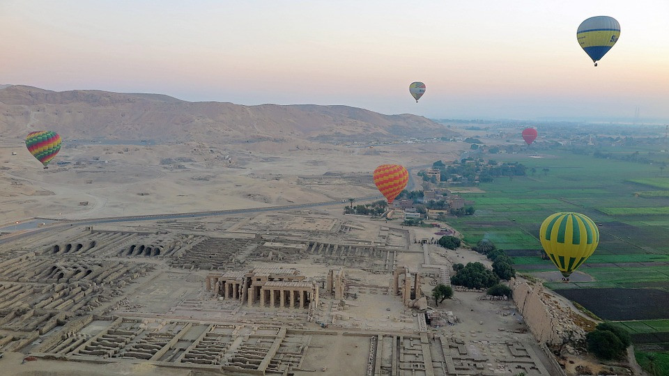 Luxor. Ancient Thebes and its necropolis is one of UNESCO's world heritage sites in Egypt