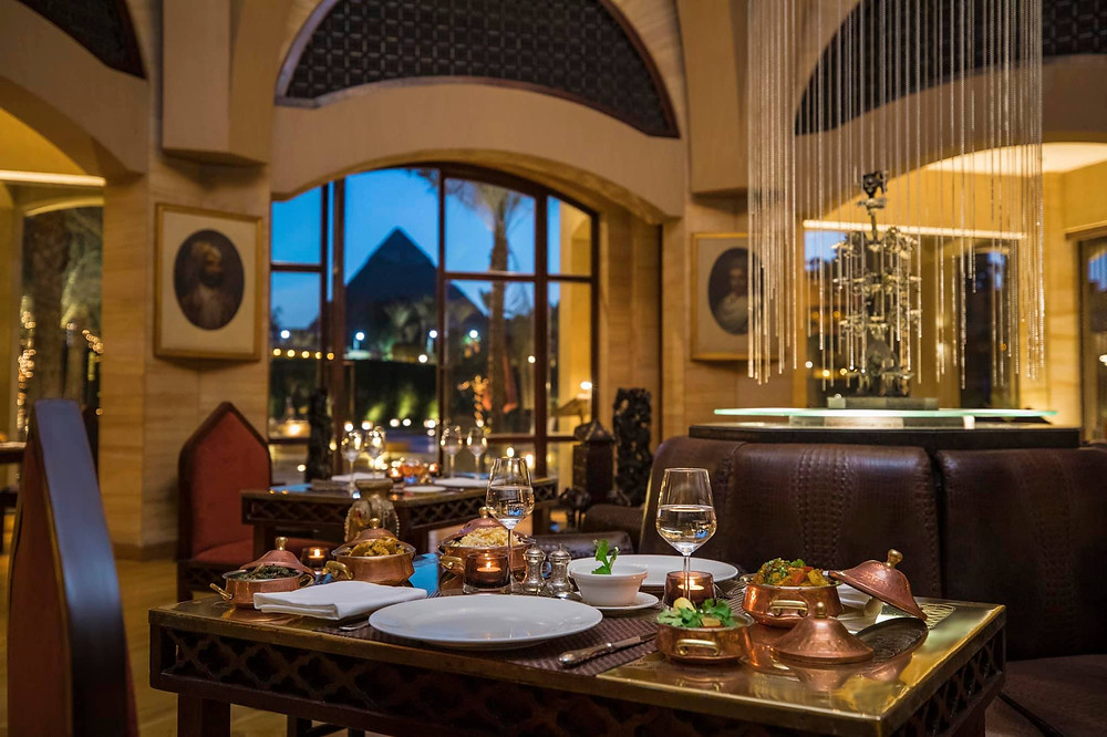 Moghul Room. Best Restaurants with Pyramid Views in Giza