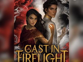BOOK REVIEW: Cast in Firelight by Dana Swift