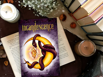 AUTHOR Q&A & GIVEAWAY: Incandescence by Elena Leman