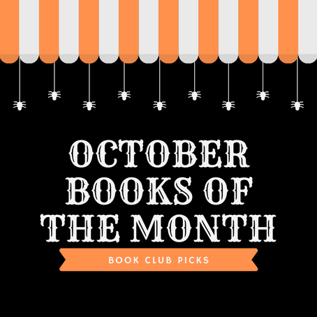 OCTOBER BOOKS OF THE MONTH 2020