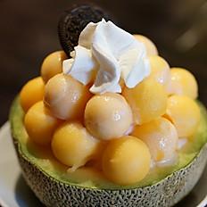 Hawaiian  Shaved Ice /Cantaloupe