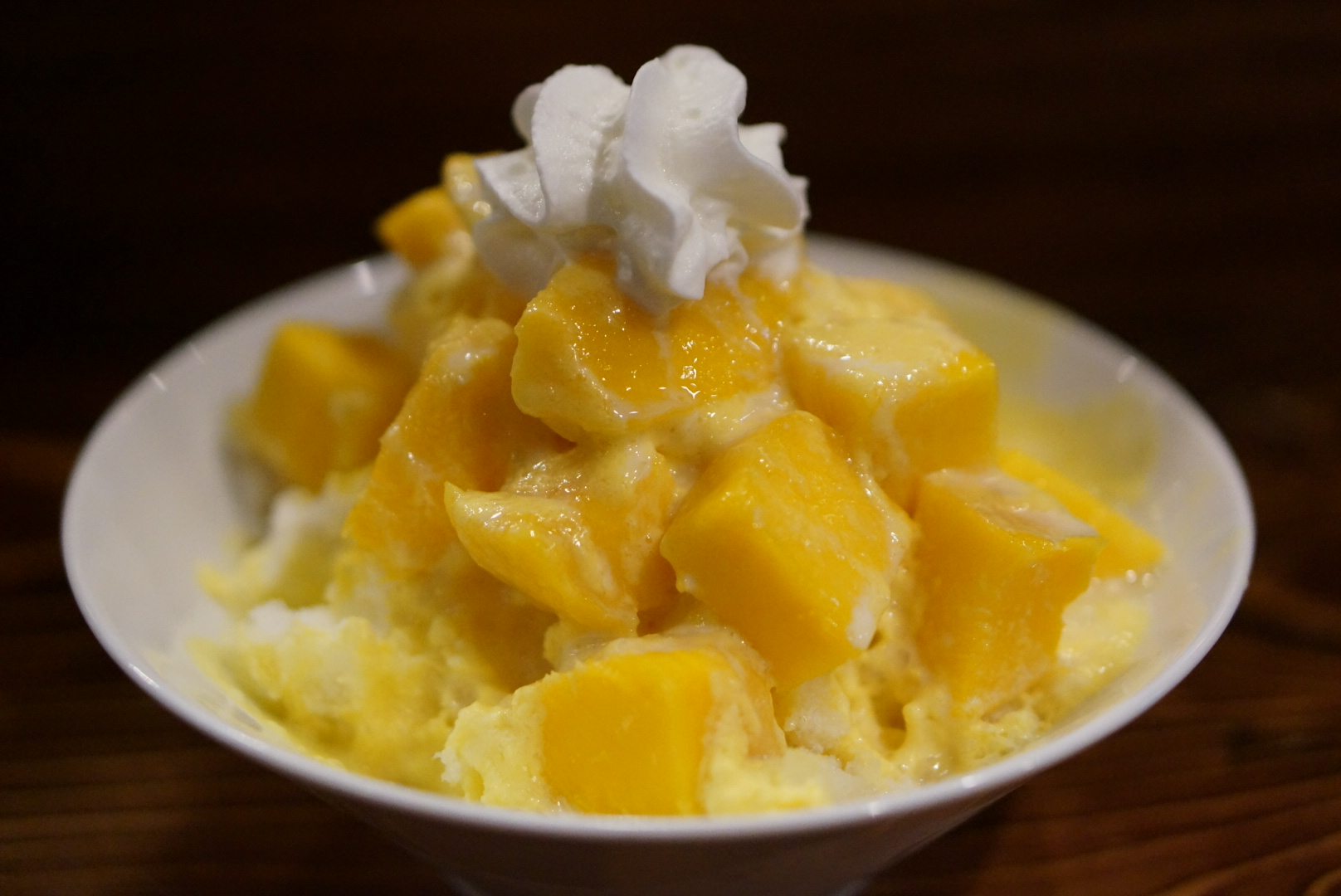 Shaved Ice (Mango)