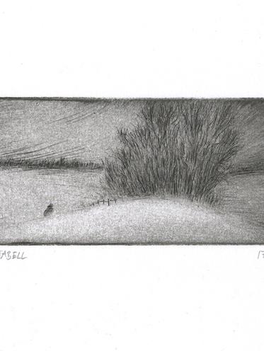 Inken Stabell - Small winter landsscape
