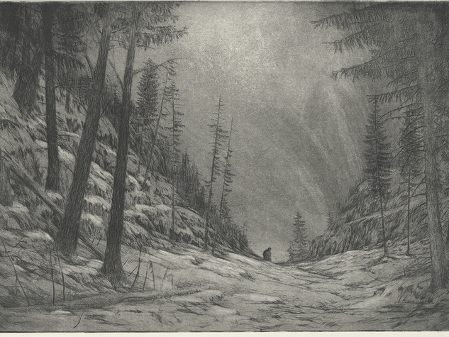 Irrlicht Inken Stabell Winterreise
