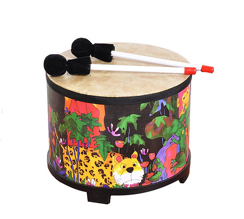 Gathering Leopard Drum Tom (25.4cmx20cm)