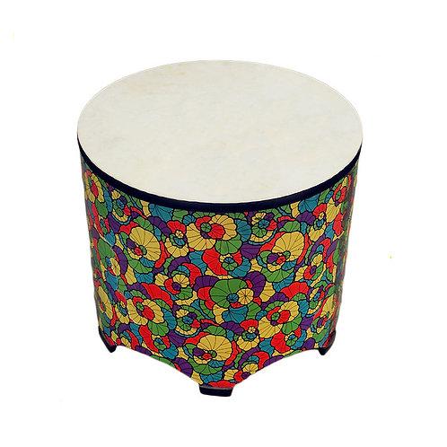 Gathering Floral Drum Floor Tom (56cmx50cm)