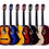 """Thumbnail: The Olive Tree Classical Guitar (36"""",39"""" Linden Wood, W/O Pickup)"""