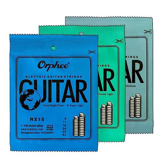 Orphee Electric Guitar Strings (0.09, 0.10, 0.11)