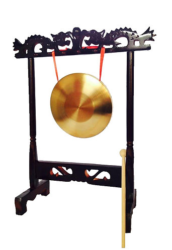 Table Gong With Rack (15cm-22cm)