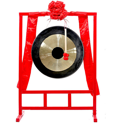 Gong With Rack (35cm-80cm)