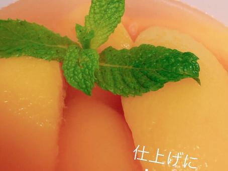 黄桃のコンポート/季節の手仕事