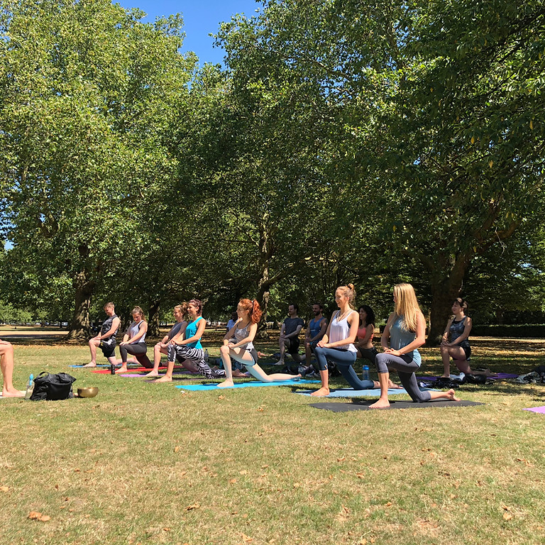 Yoga in the Park & Maltby Street Market!