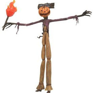 Nightmare Before Christmas Pumpkin King Action Figure