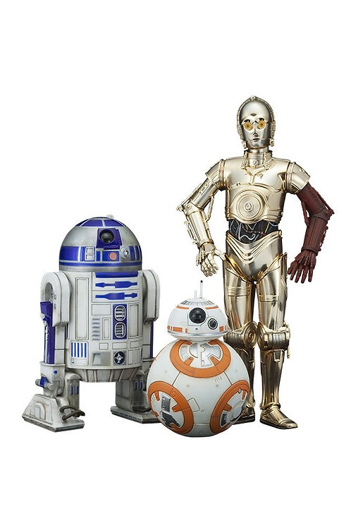 Star Wars Episode VII PVC Statue 3-Pack