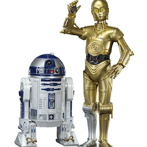Star Wars R2D2 and C3PO statue