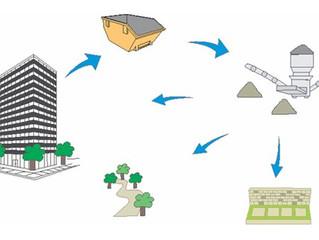 Reciclagem de lixo e reúso do entulho da construção civil