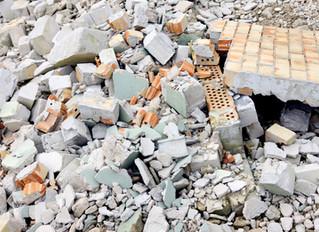 SP terá de reciclar pelo menos 10% de seu entulho